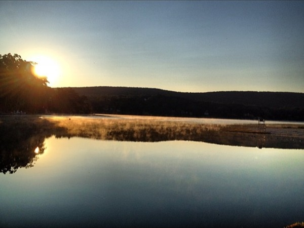 Early Sunrise at Main Beach , Erskine Lake
