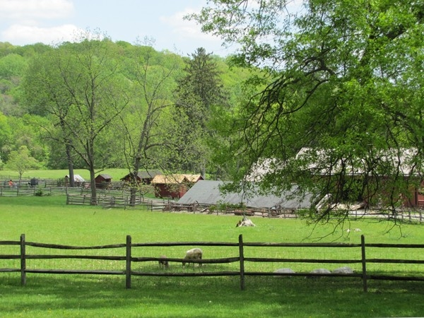 Fosterfields Living Historical Farm in western Morris Township