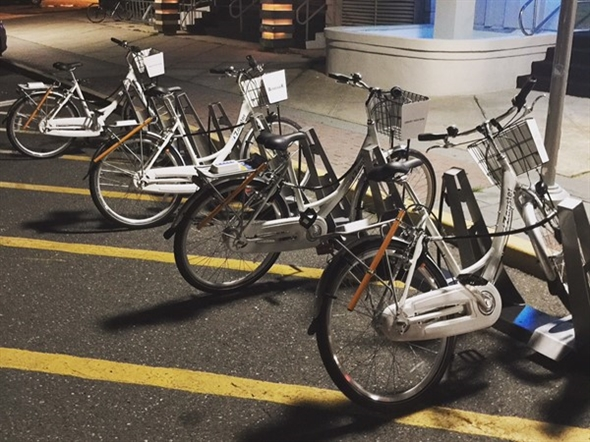 Bikes, bikes, bikes! If you don't have your own, rent one...available throughout the city