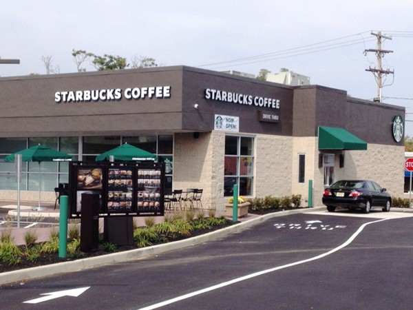 Just opened...first Starbucks in Eatontown