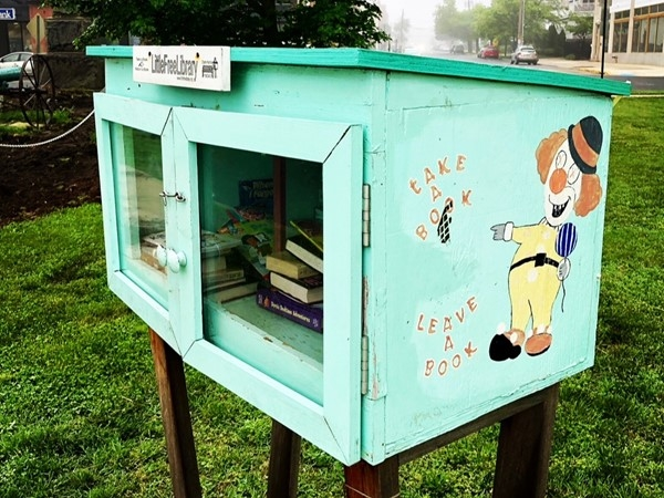 The Little Free Library serves all of us. Take a book...leave a book at corner of Cookman & Grand