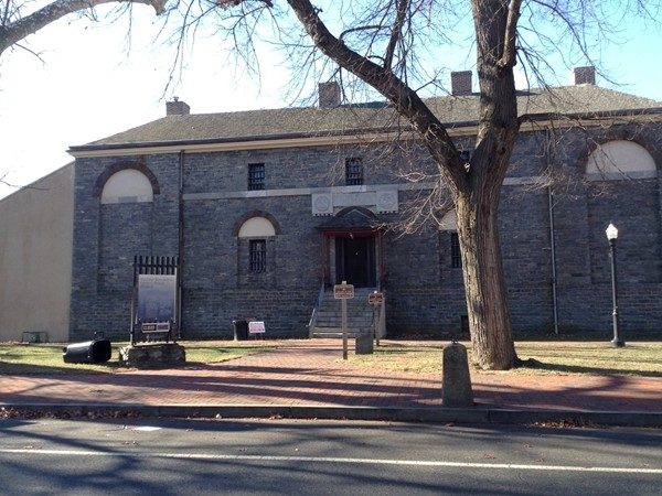 Old Prison in Historic Mt. Holly, NJ.  Open for tours year round.