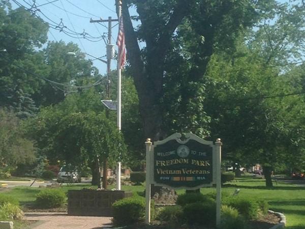 Freedom Park on Abbott Avenue