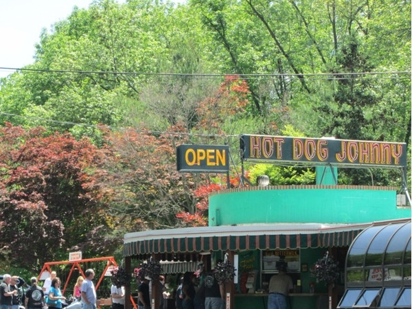 Located on Route 46 in Belvidere, Hot Dog Johnny's is open year round and attracts large crowds.