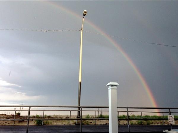 Rainbow over the Promenade