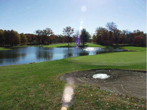 Valley Brook Golf Course: View from the 1st tee
