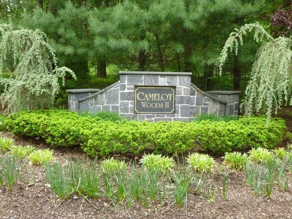 Camelot Woods II entrance