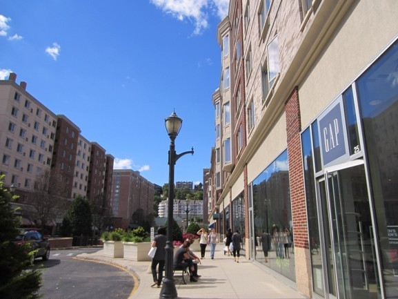 Shopping at City Place, Edgewater
