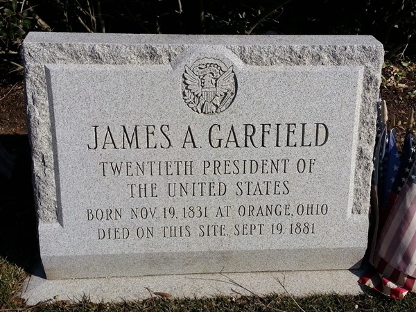 Mortally wounded by an assassin's bullet, President Garfield spent his last days in Elberon