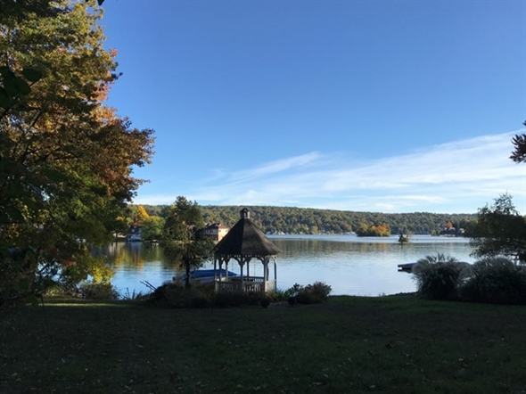 View of Lake Mohawk from west shore trail