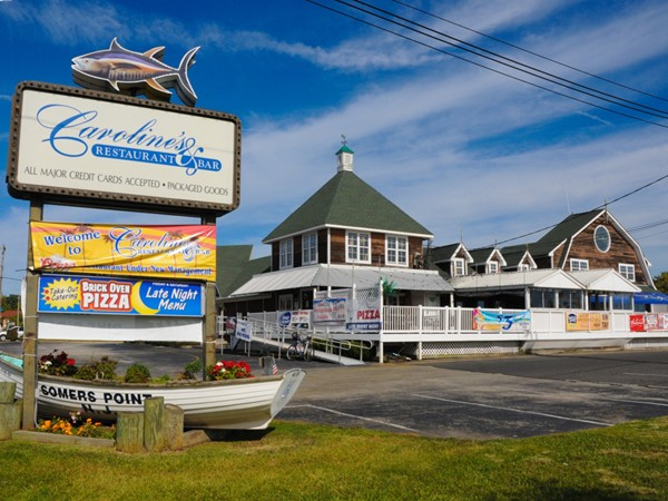 Caroline's by the Bay is a favorite in Somers Point