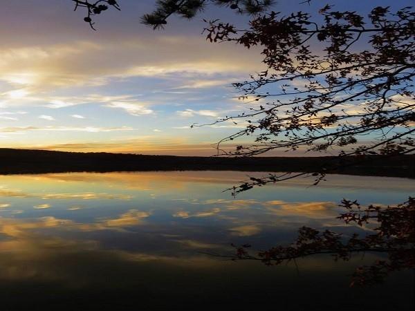 Budd Lake is lovely at dusk