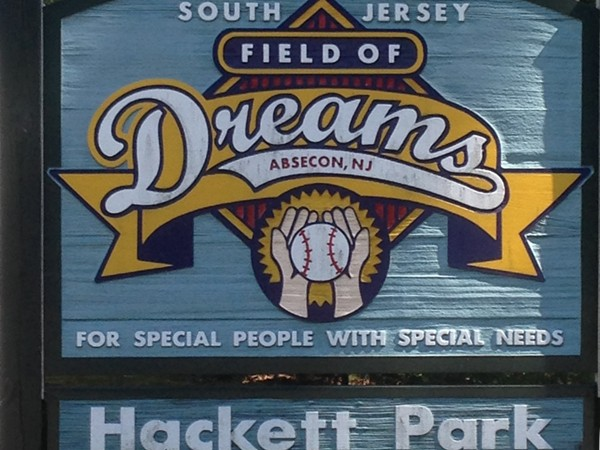 Field Of Dreams located in the Pitney Recreational Complex, Absecon