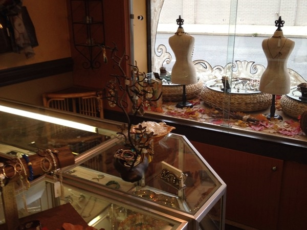 Here is an inside peek of Silver Lining. Love shopping locally