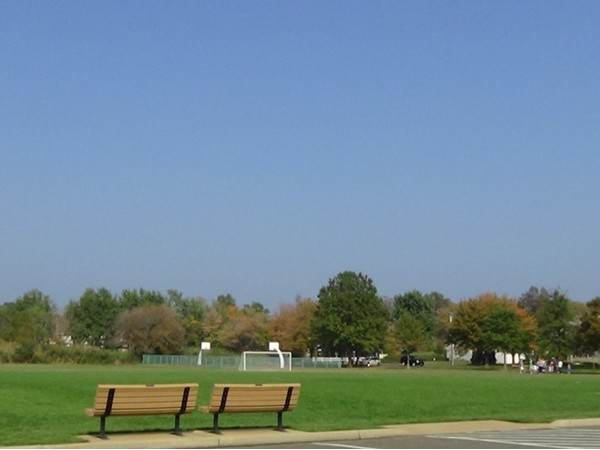 Soccer field at Blackberry Bay Park