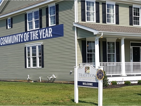 New construction in Chesterfield, NJ Community of the year!