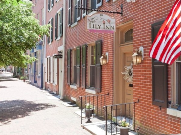 Front of The Lily Inn