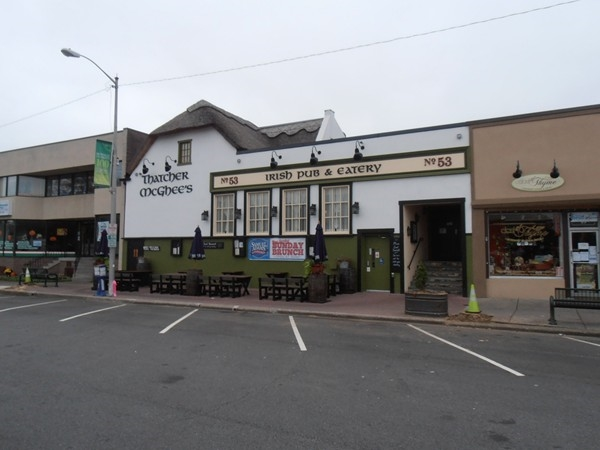 Thatcher McGhee's authentic Irish Bar and Grill