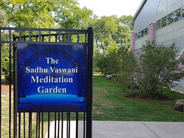 Entrance to the Sadhu Vaswani Meditation Garden