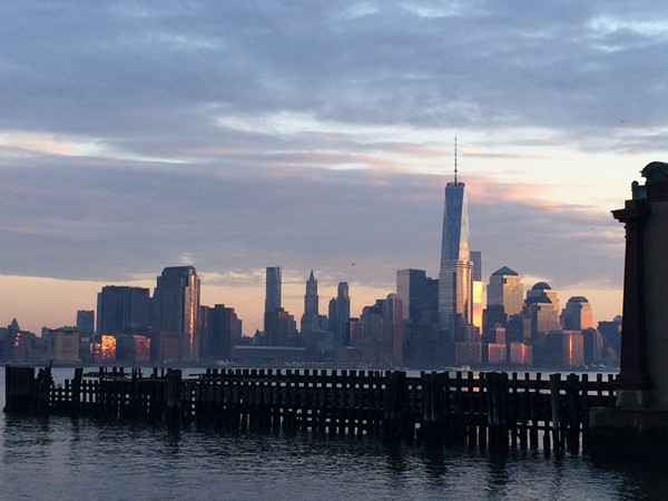 Few places can you get a better view of Manhattan than the southern point of Hoboken