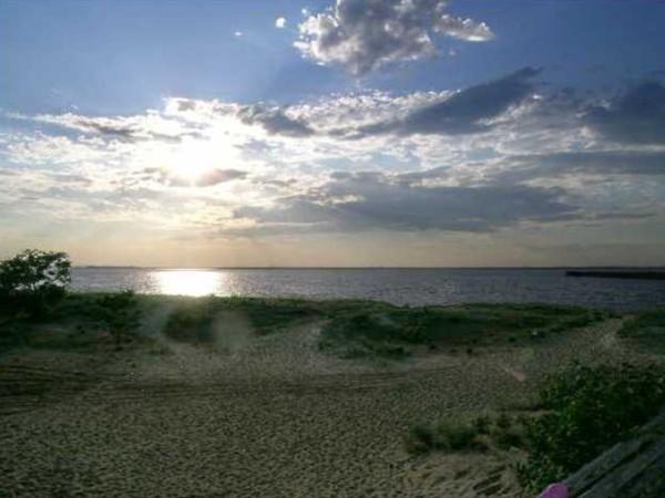 Sunset at Keansburg Beach