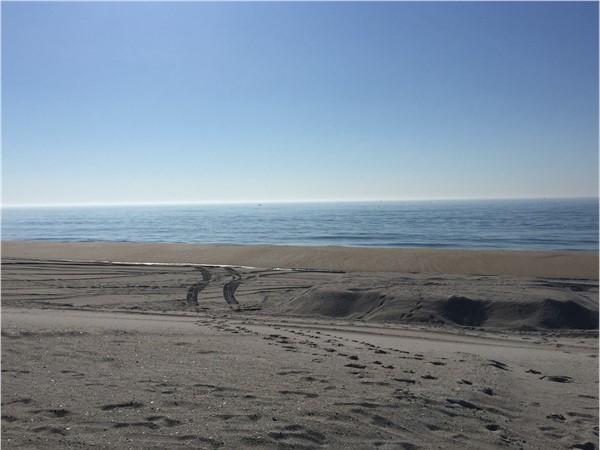 Beach replenishment project