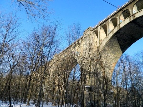 Paulinskill Viaduct constructed in 1908, now can be found on Weird NJ.com, check it out!
