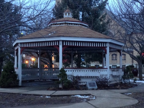 Beautiful gazebo in town