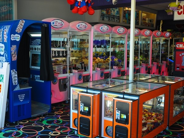 The arcade at Jenkinson's Boardwalk