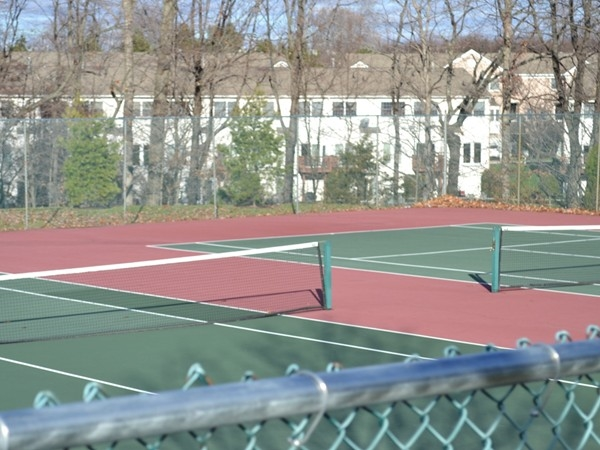 Enjoy the well-maintained tennis court in the Bridle Club Development