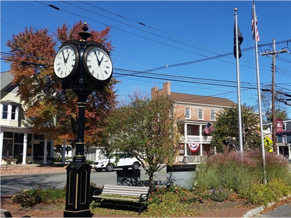 Nearby downtown Chester has a rustic feel - a slice of Americana
