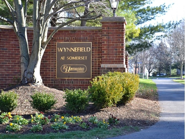 A sunny day at Wynnefield Village which consists of multi-floor townhomes and one floor condos