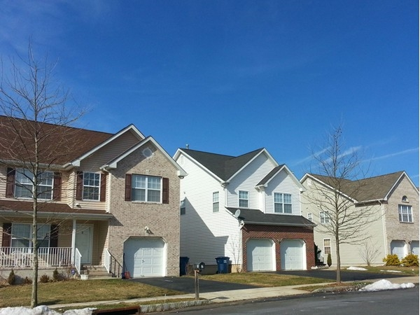 Yorkshire Woods in Lawrenceville -- built in the early 2000's Prices start in the high 300's.