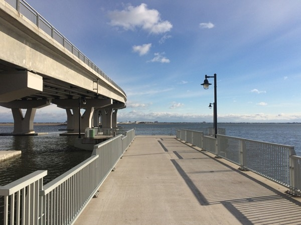 Enjoy fishing and crabbing off one of several piers on the Somers Point - Ocean City Bridge