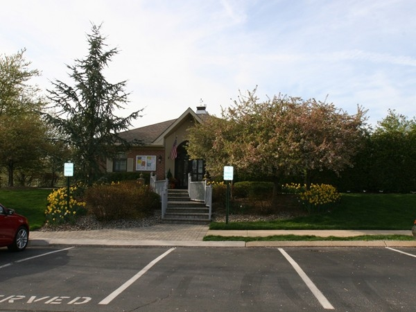 Society Hill at Bernards I - Clubhouse next to pool, tennis courts, playground and walking paths