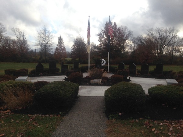 911 Memorial on Prospect Plains Road In Memorial Park