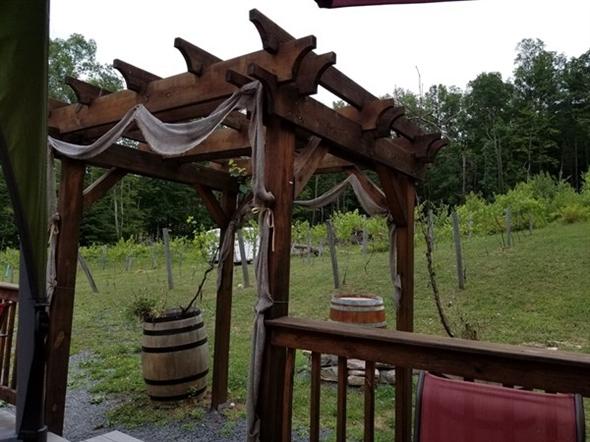 Enjoy views from Bashakill Vineyards