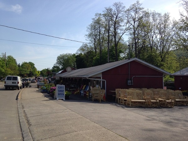 The Village has a great local farmers market with plants, fruits and vegetables and baked goods.