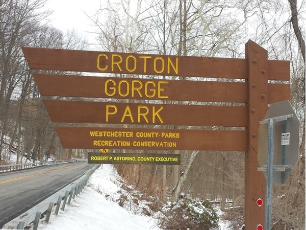 On our way to check out the Croton Dam on this snow day