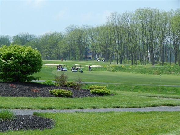 A great spring day to golf at Timber Banks