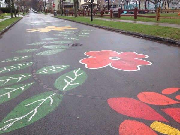 Street art in Ellwanter & Barry Park