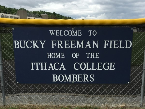 Enjoy watching baseball at Bucky Freeman Field on the Ithaca College campus