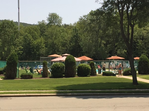 The pool at Rolling Hills located off of Route 208 and Peddler Hill Road in Monroe