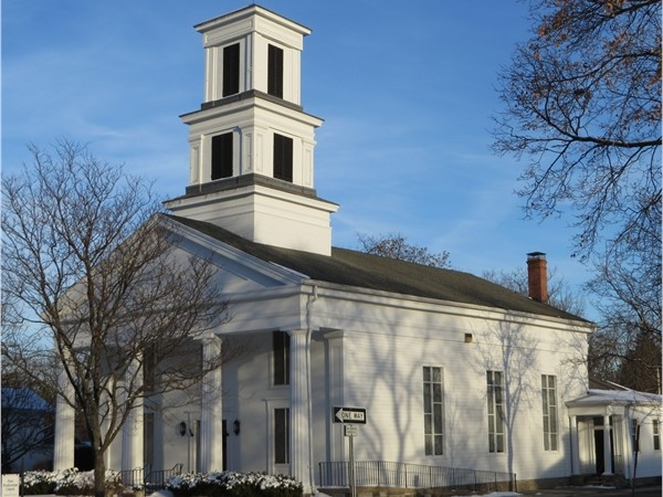 First Presbyterian Church of Honeoye Falls built in the 1800's