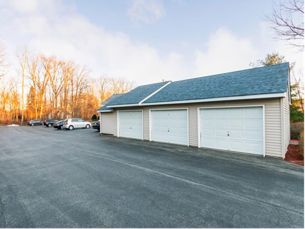 New architectural roof on all buildings and garages