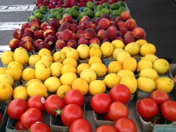 Shop for fresh produce at the Syracuse Regional Farmers Market