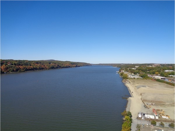 City of Poughkeepsie Waterfront. Land is cleared and ready for development