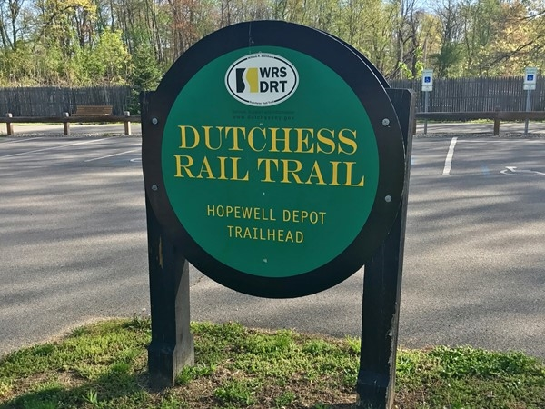 Dutchess Rail Trail, Hopewell Junction. A great place to live and start your journey