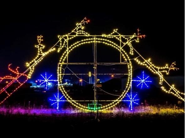 Santa at Magic of Lights