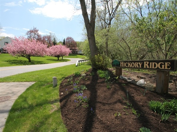 Hickory Ridge is a Fairport Community boasting beautiful views and spacious homes